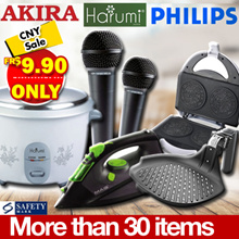 Massive Chinese New Year Sale | CNY Sale | All item at only $9.90 and $19.90 | More than 30 items // GRAB NOW ! PHILIPS , HARUMI, AKIRA ETC .
