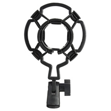 Universal Shock-proof Microphone Mount Plastic Studio Mic Holder Stand Clip For Large Diaphram Conde