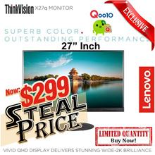 ThinkVision X27q 27-inch QHD IPS LED LCD Monitor