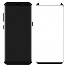SAMSUNG GALAXY S8 PLUS TEMPERED GLASS SCREEN PROTECTOR- BLACK