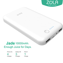 Zola Jade 10000MAH Powerbank White (Zola 1 Year Malaysia Warranty)