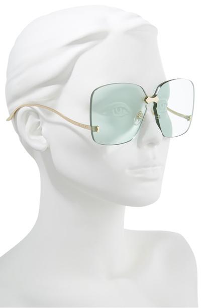 3a231ecc3060 Qoo10 - GUCCI 99mm Rimless Sunglasses : Jewelry & Accessories
