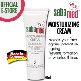 Sebamed Moisturizing Cream 50ml(Bodycare/Lotion/Sensitive Skin/No greasy/soothing/anti-inflammatory/not sticky]