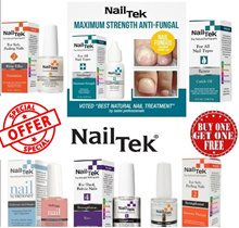 Nail Tek Anti Fungal Treatment / Strengthener / Renew / Ridge Filler / Nail Masque