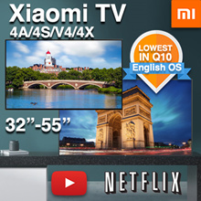 [SG]*Lowest Price❤LOCAL-WARRANTY❤Xiaomi TV Smart Android 4K TV 32 43 50 55 inch Model 4A 4X 4S