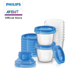 Philips Avent  Breastmilk Storage Cups with Leak Proof Lids