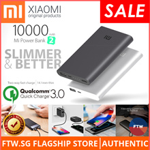 iPhone Xs / Xs Max / Note 9 Xiaomi Powerbank 100% Authentic Baseus USAMS Wall Wireless Charging