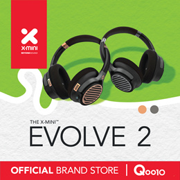 Online Exclusive Model X-mini™ Evolve 2 Hybrid Wireless Headphone+Speaker