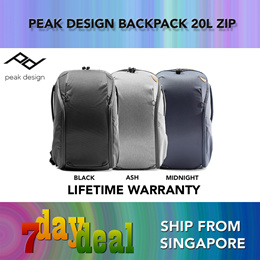 Peak Design Everyday Backpack 20L Zip V2 (Ash / Black / Midnight)
