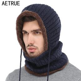 b750efe665d Winter Knitted Hat Beanie Men Scarf Skullies Beanies Winter Hats For Women  Men Caps Gorras Bonnet