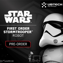 UBTECH Star Wars First Order Stormtrooper Robot / 1 year local warranty.