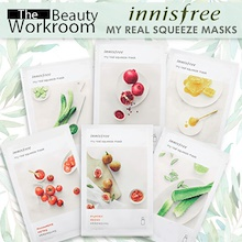 NEW UPGRADE! 10 PIECES MASKS KOREA Innisfree My Real Squeeze Mask 100% Authentic - Fresh Stock
