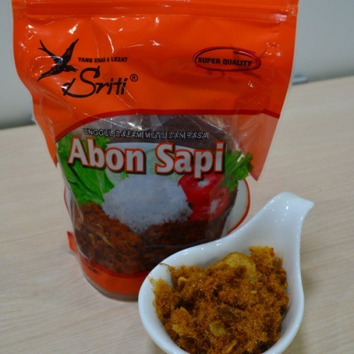 [Free Shipping] Abon Sapi Bawang Sriti Besar Food Deals for only Rp62.500 instead of Rp62.500