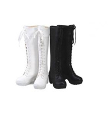 [PRE-ORDER] White Cosplay Martin Boots Shoes Tall |*$$Size||*38||*