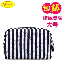96aa57d4d31e Pataya Thailand cosmetic Bangkok, waterproof women s cloth bag hand printed  bags travel portable sto