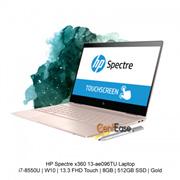 HP Spectre x360 13-ae096TU Laptop- i7-8550U  W10  13.3 FHD Touch  8GB  512GB SSD  Gold