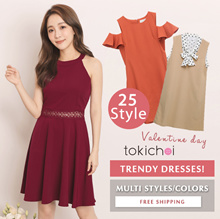 TOKICHOI - Trendy Sale! Trendy Dresses Multi Colors/Styles/Women/Girl/Ladies Clothing-Free Shipping