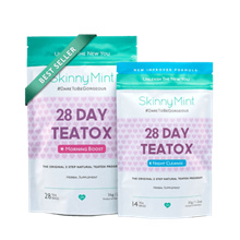 [SKINNYMINT] 28 Day Ultimate Teatox/ Night Cleansel/ EXP: December 2018