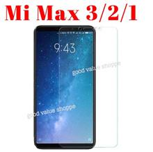 ★ Mi Max 3 * 2 * 1 - 9H Tempered Glass Phone Screen Protector / TPU Soft Phone Case
