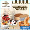 ☆Tous Les Jours☆Rp.50000 Value Mobile-Voucher_berlaku seluruh cabang Tous les Jours di Indonesia