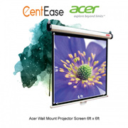 Acer Wall Mount Projector Screen 6ft x 6ft