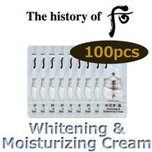 The history of whoo Gongjinhyang Seol Whitening and Moisturizing Cream 1ml x 100 pcs (Sample)