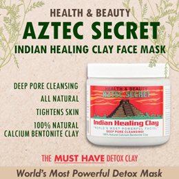 (Never Before Price) Aztec Secret Indian Healing Clay Deep Pore Cleansing! 1 lb (454 g) / 2lbs (908