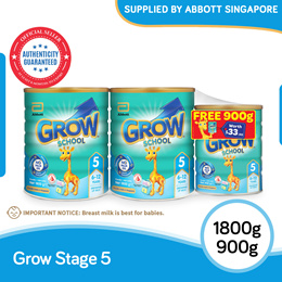 [Twin Pack free 900g] GROW school Stage5 1.8kg(ONLY $27.2/KG)