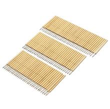 100pcs PCB Bare Board Spring Loaded Test Probe Pin P75 B1 100g 1.02mm Diameter