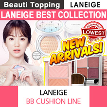 ★2017 NEW★LANEIGE★Ideal Shadow quad/blusher/BB Cushion Crystals Whitening / Pore Control[Beauti Top