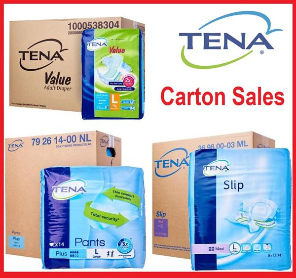 ?Penjualan Karton TENA? ? Popok Dewasa Deals for only Rp410.000 instead of Rp554.054