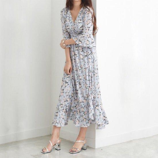 インディーズのエイメンズフラワーマーケットワンピース プリントのワンピース/ 韓国ファッション