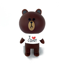 shop New Bear Brown Rabbit Cony Kawaii Action Figures Cute Decoration Cartoon Toys For Children Kids