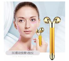 24k gold Beauty Bar facial lifting with 3D electric massage