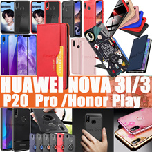 Huawei Nova 3i 3 3e P20 P20 Pro Mate 10 Honor Play Mate 20 Pro Tempered Glass Screen Protector case