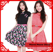 [SIZE AVAILABLE S-XXL] PRINTED COTTON DRESS/PLUS SIZES/ PREMIUM / OFFICE/ DINNER/ WORK
