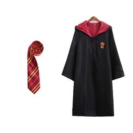 Harry Potter cosplay Clothes Robe Gryffindor Costume Magic Robe School uniform cloak