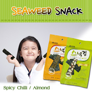[Farmmatzzang] ★Seaweed snack★ Seaweed snack/ Spicy Chilli/ Almond/ Original/ Calories Down Nutrition Up!