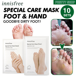★Innisfree★ 스페셜 케어 마스크Special care mask/Foot Mask 10 Pack/Hand Mask 10 Pack /Innisfree/Hand/Foot