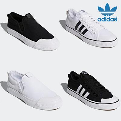 Qoo10 - ADIDAS NIZZA SLIPON W CQ3103 CQ3104 CQ2332 CQ2333   Shoes 2f659b3672b6a