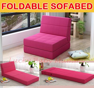 Foldable Sofabed / Foldable Sofa / Foldable Mattress/Lazy/Folding/Bed