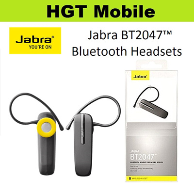 ab6f7f65fa4 Jabra BT2047 Mono Bluetooth Headsets*Black Color Available