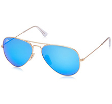 GSS Ray-Ban RB3025 112/17  55/58MM  Mens Aviator Large Metal Aviator Sunglasses