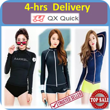 🇸🇬{4-hrs delivery option} Swimsuit - 01 Rash Guard UV Sun Protection UPF50+ Swimming Wear Suit