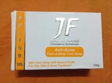 JF Skin Solutions Anti-Acne Soap (For Pimples & Fungal Infections)