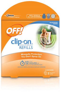 ( Stock in Singapore ) Limited stock Off Clip On Mosquito Repellent refill only