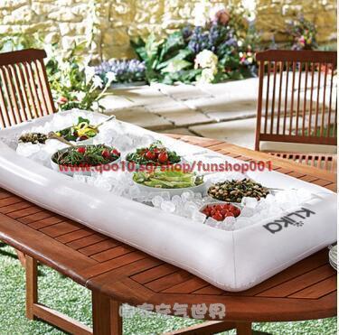 Ice Bar inflatable inflatable inflatable salad bar buffet salad plate fruit plate inflatable ice buc