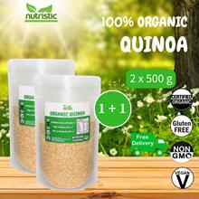 ☆ Value Bundle 1+1 ☆ Organic Quinoa [500g] x2 OR Organic Tricolour Quinoa [500g] x2 ~ FREE SHIPPING