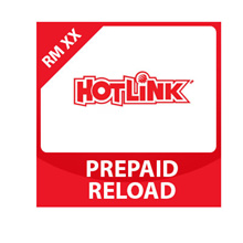 Hotlink Top Up RM30