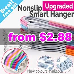 ★Local Fast delivery ★ Non slip Smart Hanger / velvet hanger / Clothes Holder /  Non slip hanger